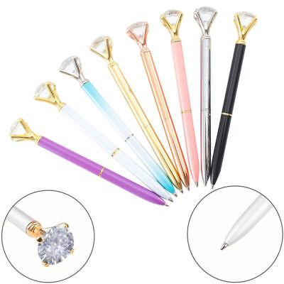 10X crystal diamond pen bling bling metal ballpoint pen great gift for family