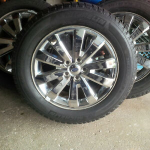 FORD EDGE Michelin Winter w TPMS on Genuine Ford Aluminum Rims