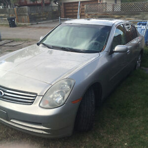 2003 Infiniti G35 for parts cars call or text