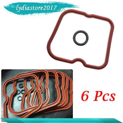 6PCS Valve Cover Gasket w/ Seals fit for Dodge Cummins 89-98 12V 6B 6BT 5.9