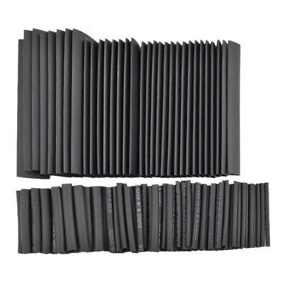 328PCS Heat Shrink Tube black 8 Sizes Tubing Wrap Sleeve Set Combo