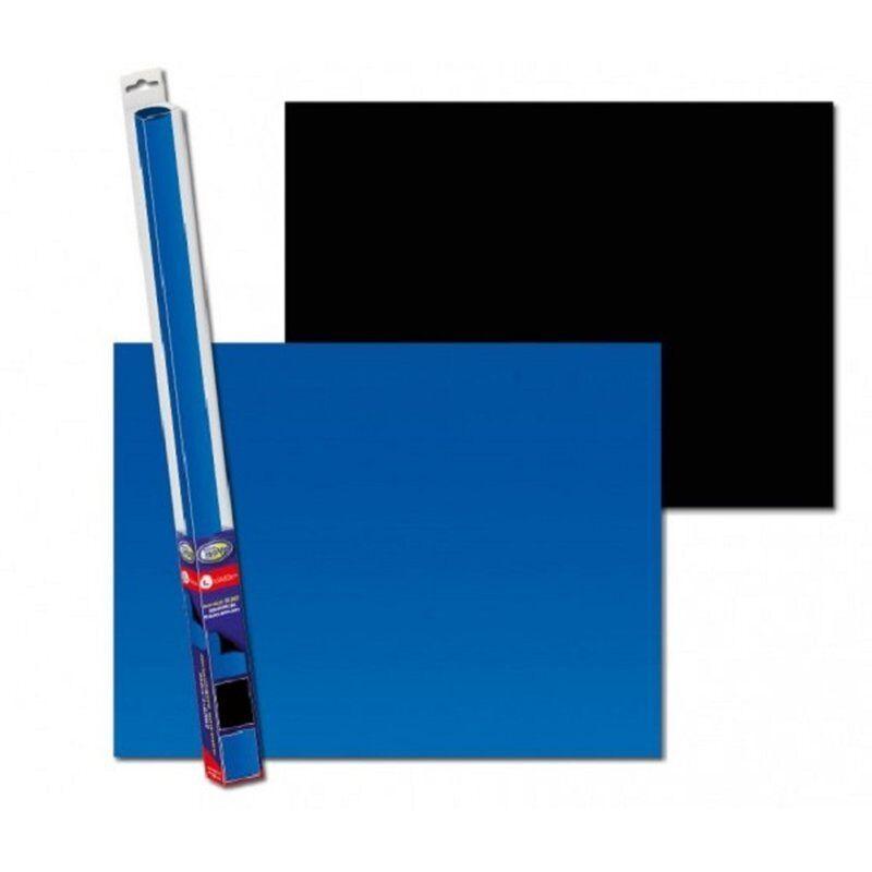 Aqua Nova Fotorückwand Black / Blue XL Poster Rückwand 150x60cm Deko Aquarium