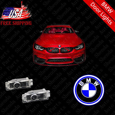 For BMW 3 5 7 Series X3 X5 X6 LED Car Door Lights Logo Welcome Courtesy Lighting