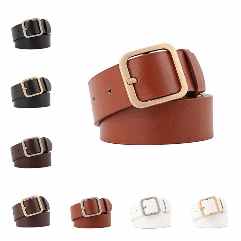 MILANO LADIES REAL FULL GRAIN LEATHER BELTS SILVER BUCKLE
