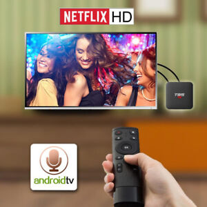 Android TV Box  Google voice control android 7.1 tv box StbEmu