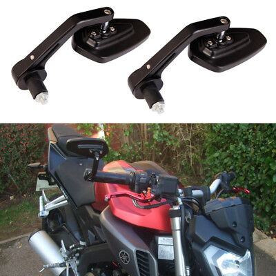 2x CNC Motorcycle Rear view Side Mirrors For Yamaha XJR1300 V-MAX MT-01 MT-03