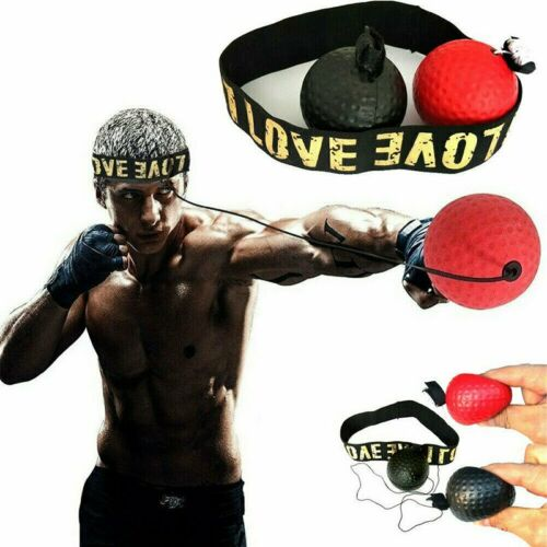 Sports Boxing Punch Exercise Fight Ball For Reflex Speed Training MMA Kickboxing