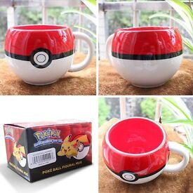 Pokemon 3D Figural Ceramic Mug Coffee Cup