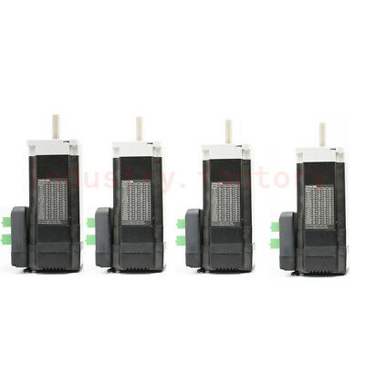 4pcs Nema23 Brushless Dc Servo Motor Integrate Driver 188w 0.6nm 7.4a Cnc 4 Axis