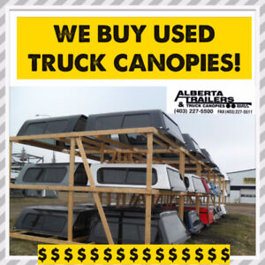 We Buy Sell & Consign Used Truck Canopies Toppers Caps