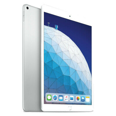 Apple iPad Air (3rd Generation) 64GB, Wi-Fi + 4G (Unlocked), 10.5in - Silver