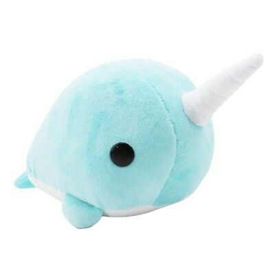 Novelty Narwhal Whale Plush Doll Stuffed Toy Pillow Kids Doll For Baby Gift Toys