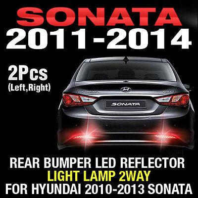 Rear Bumper Led Reflector Light Lamp 2way Assy For HYUNDAI 2011-2014 Sonata i45