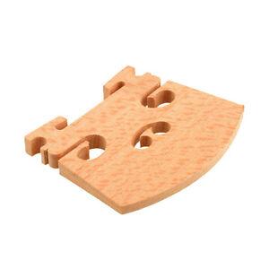 Maple Violin Bridge Uncut For 1/8 1/4 1/2 3/4 4/4