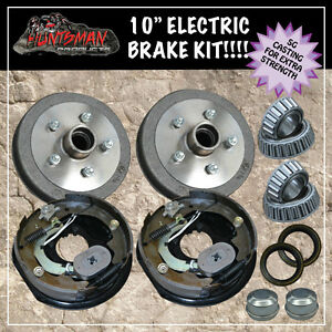 10-TRAILER-ELECTRIC-BRAKE-KIT-CARAVAN-BOAT-CAMPER-TRAILERS-sg-casting