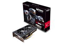 AMD RX 470 nitro+ 8gb by sapphire