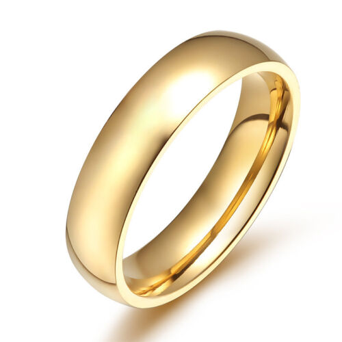Bride groom Engagement wedding men's band Ring Never fade Ti