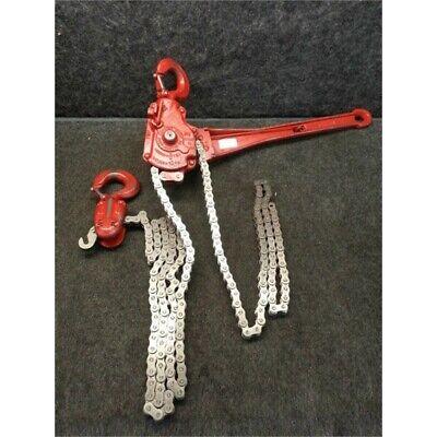 Coffing Hoist Co 05105W 1-1/2 Ton Lever Roller Chain Hoist; 57
