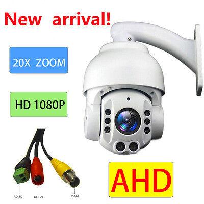 20X ZOOM AHD SONY CMOS Pan Tilt 1080P 2.0MP PTZ Camera CCTV Security Outdoor Cmos-pan