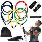 Koop 11 Stks/set Pilates Latex Tubing Uitbreidingen Yoga