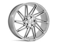 """19"""" Veemann V-FS26 - Silver Alloy Wheels & Tyres. Suit BMW E90, E92 & F30. (5x120)"""
