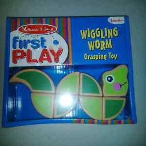 New Wiggling Worm Grasping Toy (Melissa and Doug)