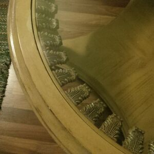 round glass coffee table London Ontario image 2