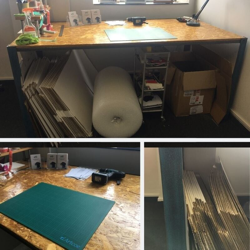 Crafting, Framing Table/Work Station Standing height   in Newcastle, Tyne  and Wear   Gumtree