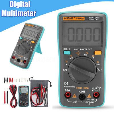 Accuracy Digital Lcd Multimeter Ampere Meter Dc Ac Voltage Auto Tester Voltmeter