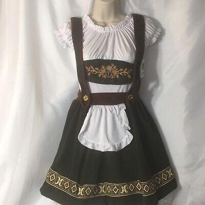 Renaissance Bavarian Beauty Costume Ladies One Size Wrench Bar Maid Dress Up - Bar Maid Costume