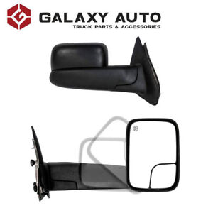 NEW Black Towing Mirrors for 02-08 Dodge Ram 1500/2500/3500