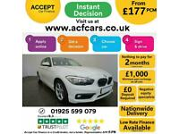 2017 WHITE BMW 116D 1.5 ED PLUS DIESEL MANUAL 5DR HATCH CAR FINANCE FR £193 PCM