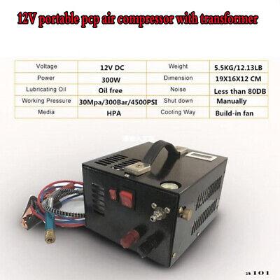 4500psi 300bar 30mpa 12v Pcp Air Compressor With Transformer