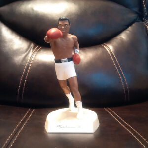 Muhammad Ali Autographed Statue - Limited Edition