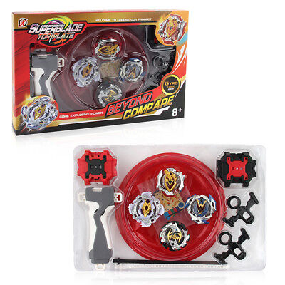 Beyblade 4 in 1 Metal Fusion Spinning Top for Kids/baby Christmas Birthday Gift - Beyblade Baby