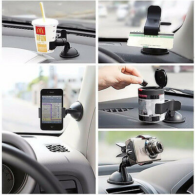 Universal 360° Car AUTO ACCESSORIES Rotating Phone Windshield Mount GPS Holder