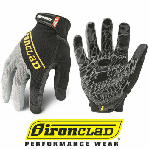Ironclad Gripworx Bgw Premium Industrial Gripping Gloves - Select Size