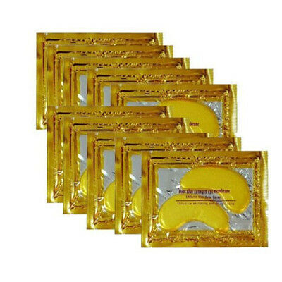 30pairs Crystal Gold Collagen Under Eye Patches Mask DARK CIRCLES BAGS WRINKLES