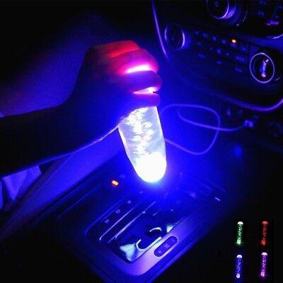 Car LED Light Manual Gear Automatic Stick Shift Knob Lever Universal 15cm