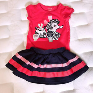 Baby girl outfits size 6-12M