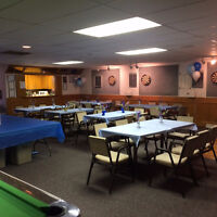 Community Hall for Rent - Birthday Parties, Weddings, Meetings