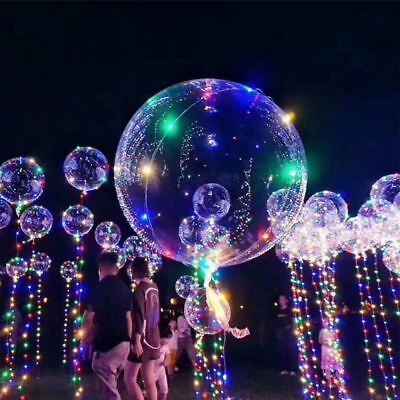 1pcs LED Balloons Clear String Lights Helium Wedding Birthday Party Decorations - Helium Led Balloons