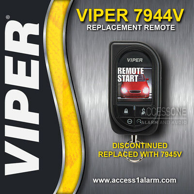 Viper 7944V Responder HD 2-Way OLED Color Remote Control Replacement NEW 7945V