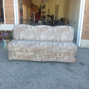 RV pull out sofa