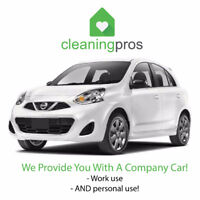 $17/HR +Company Car +Gas +Benefits +Tips +Supplies +No Weekends