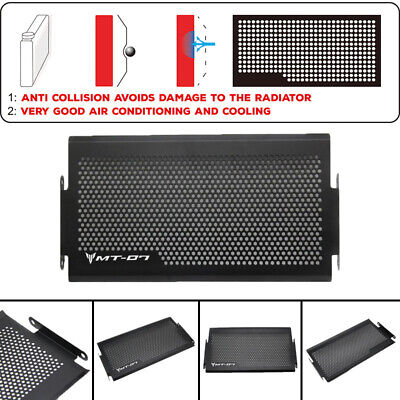 For Yamaha MT07  XSR  FZ-07 Radiator Protective Grille Cover Protector
