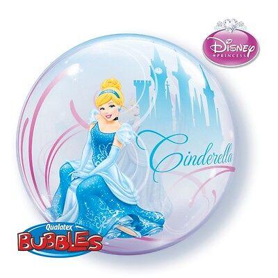 Bubble Ballon - Disney Princess - Cinderella -  Ø 56 cm NEU ()