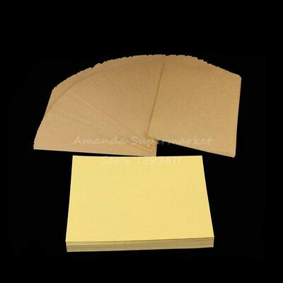 25 Kraft Paper Self Adhesive Sticker Printing Labels Laser Inkjet Printer