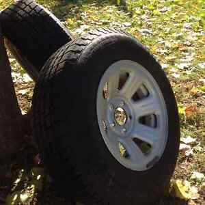 15 in Cooper Snow Tires - Like new Kitchener / Waterloo Kitchener Area image 1
