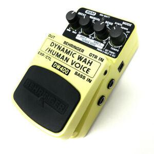 Behringer DYNAMIC WAH DW400 Pédale d'effets Auto-Wah / Human